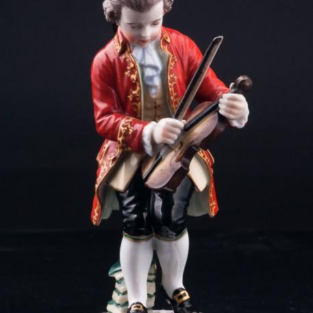 Юный Моцарт, Dressel, Kister & Cie, Германия, нач. 20 в