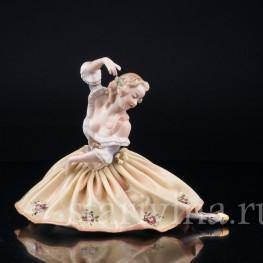 Балерина в желтом, Volkstedt, Германия, вт. пол. 20 в