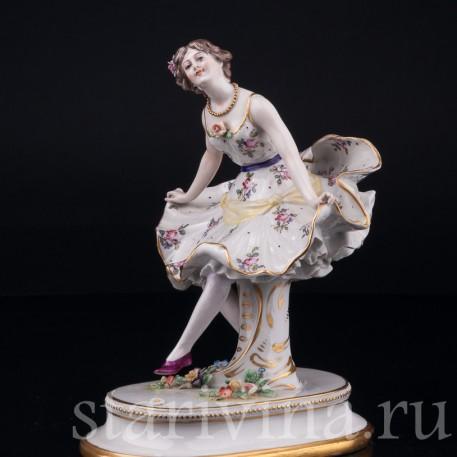 Балерина, Дрезден, Германия, кон. 19 - нач. 20 вв