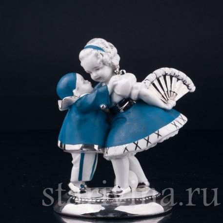 Маленький пьеро Маленький пьеро и девочка с веером, Германия, 1920-30 гг.