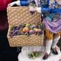 Пара с корзинами фруктов, Volkstedt, Германия, кон. 19 - нач. 20 вв
