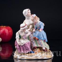 Женщина с двумя девочками , Royal Wien, Австрия, 1846 г