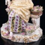Девушка-цветочница, продавщица цветов, Dressel, Kister & Cie, Германия, 1907-20 гг