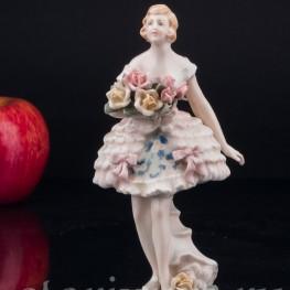 Балерина с букетом , Karl Ens, Германия, 1920-30 гг