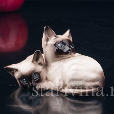 Сиамские котята, Royal Doulton, Великобритания, сер. 20 в