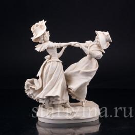 """В вихре танца"", танцующие девушки, Scheibe-Alsbach, Германия, 1925-45 гг"