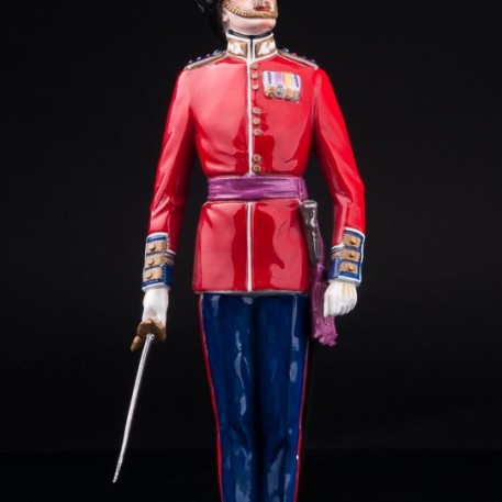Капитан шотландской гвардии, Дрезден, Германия