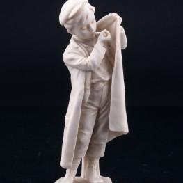 Мальчик, прикуривающий на ветру , Unger, Schneider & Cie, Германия, пер. пол. 20 в