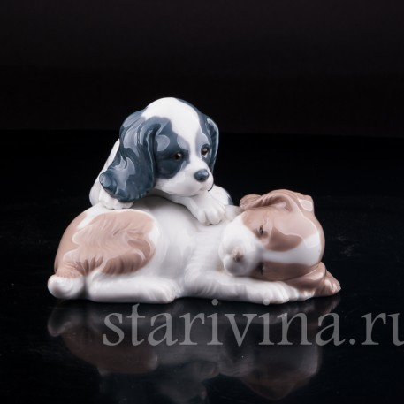 Два щенка, Lladro, Испания
