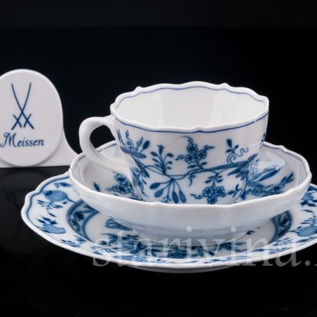 Чайное трио, Цвибельмустер, Meissen, Германия