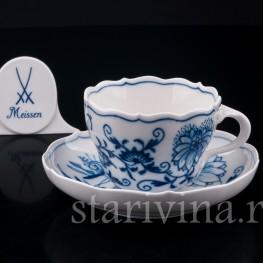 Чайная пара, Цвибельмустер, Meissen, Германия