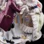 Разговор у зеркала, кружевная, Volkstedt, Германия, вт. пол. 20 в