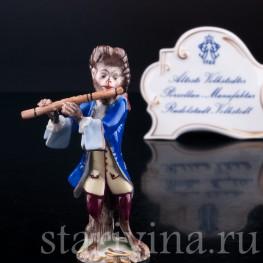 Обезьяний оркестр, флейтист, Volkstedt, Германия, вт. пол. 20 в