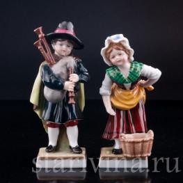 Дети , E & A Muller (Schwarza-Saalbahn), Германия, 1890-1927 гг