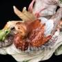 Статуэтка из фарфора Утки и лягушка, , вт. пол. 20 в.