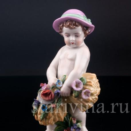 Малыш со снопом, аллегория лета, Германия, пер. пол. 20 в