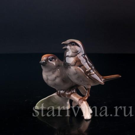 Воробьи, миниатюра, Goebel, Германия