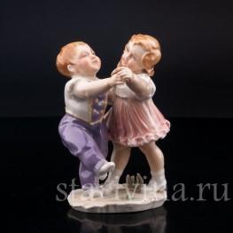 Танцующие дети, Karl Ens, Германия, 1920-30 гг.
