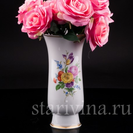 Фарфоровая ваза Meissen, Германия вт. пол. 20 в.