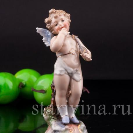 Ангелочек, миниатюра, Volkstedt, Германия, кон. 19 в.