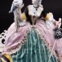 Статуэтка Девушка с тростью и попугаем, Karl Ens, Германия, 1920-30 гг.
