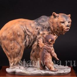 Медведица с медвежонком, Alka Kaiser, Германия, до 1990 г