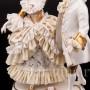 Фарфоровая статуэтка Танцующая пара, кружевная, Ackermann & Fritze, Германия, перв. пол. 20 в.