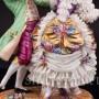 Фарфоровая статуэтка Танцующая пара, кружевная, Muller & Co, Германия, перв. пол. 20 в.