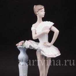 Фарфоровая статуэтка Балерина, Lladro, Испания, вт. пол. 20 в.