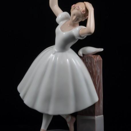 Балерина с голубем, Bing & Grondahl, Дания, до 1948 г