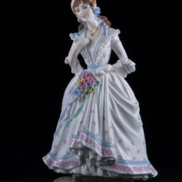Деревенская невеста (The Vilage Bride), Royal Worcester, Великобритания, 1993 г