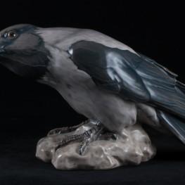 Большая серая ворона, Bing & Grondahl, Дания, 1950 гг