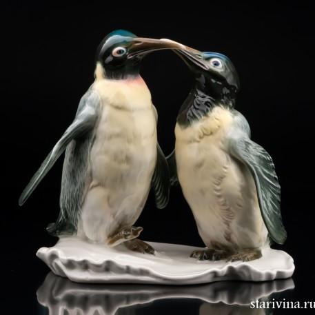 Императорские пингвины, Karl Ens, Германия, 1950 гг