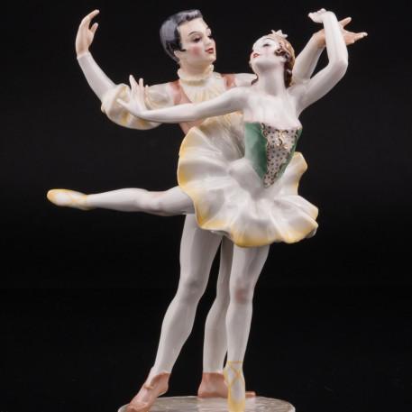 Балетная пара принц и принцесса, Hutschenreuther, Германия
