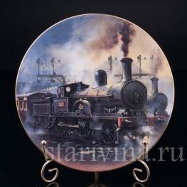 Джумбо на вокзале Юстон, Caverswall, Великобритания, 1981 г