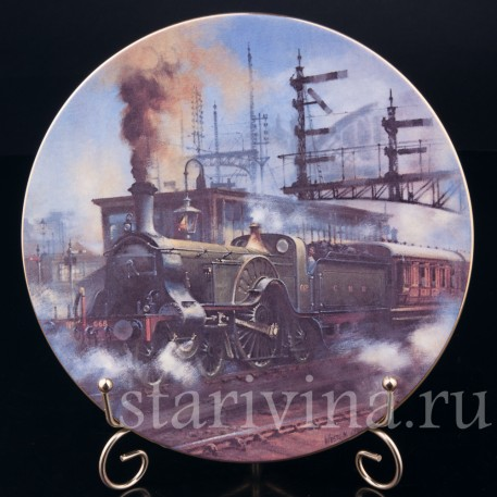 Паровоз Стирлинга, Caverswall, Великобритания, 1981 г