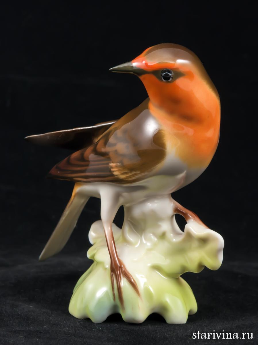 Купить фарфоровую статуэтку Малиновка, Hutschenreuther, Германия по низким ценам - Старивина