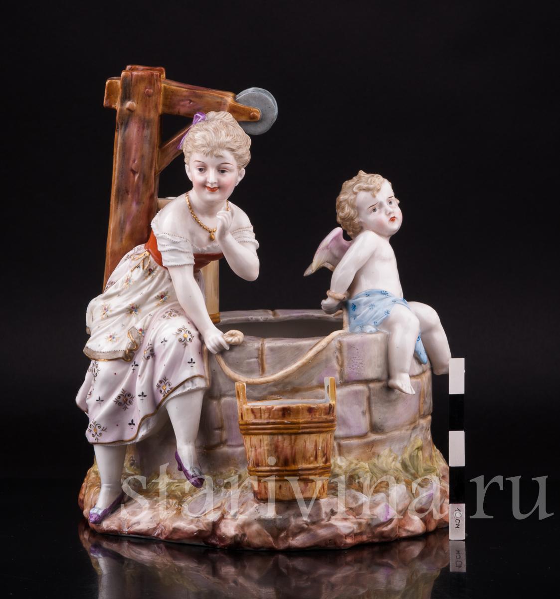 фарфоровая статуэтка колодец фото ольге